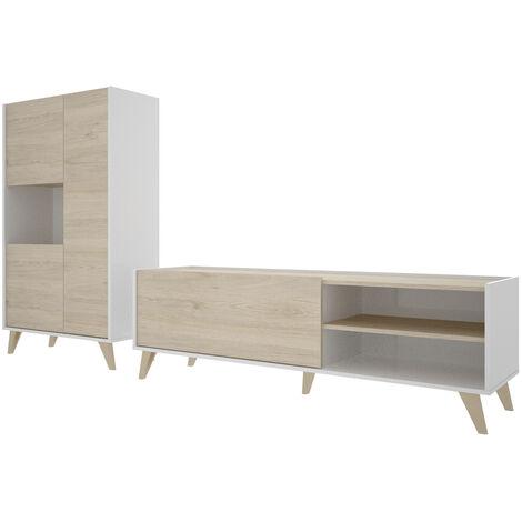Conjunto muebles salon Mueble Tv y Aparador (estante incluido)