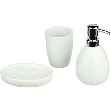 Conjunto Para Baño Modelo Sun Color Blanco - NEOFERR