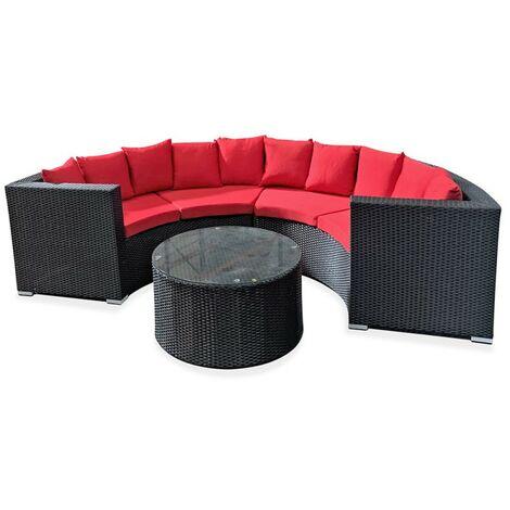 Conjunto sofá rattán Krabi