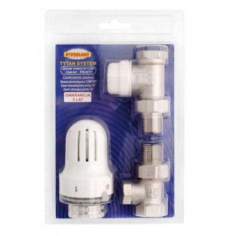Conjunto termostático cabezal de válvula de confor