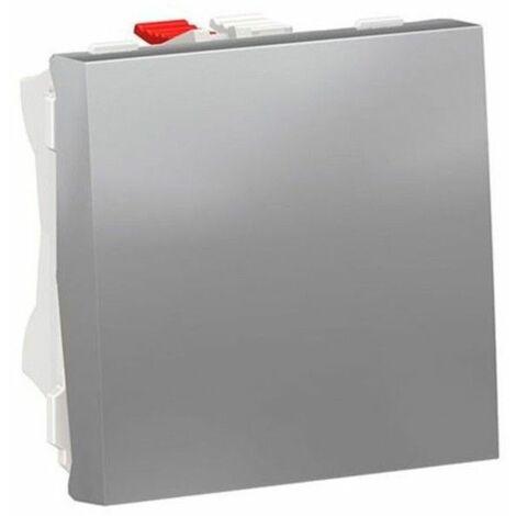 Conmutador ancho color aluminio NU320330 de Schneider