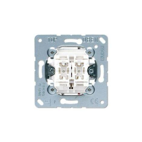 Conmutador doble Jung serie LS990 509U