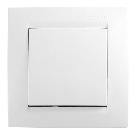 Conmutador Empotrar Blanco - SIMON - F1590201030