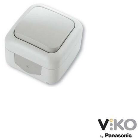 Conmutador estanco 10A 250V IP54 VIKO by Panasonic