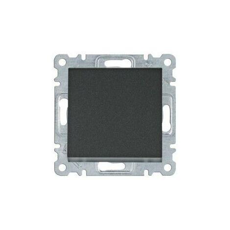 Conmutador Hager Lumina Intense WL0023 color Negro