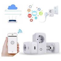 Conmutador interruptor inteligente Wifi para Aplicación móvil Remote Estándar |Temperatura y humedad constantes