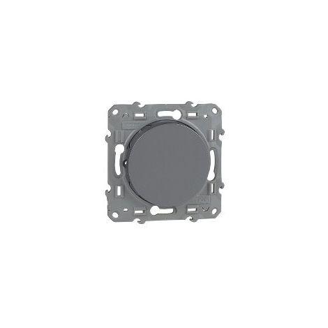 Conmutador Odace Plata SCHNEIDER S530203