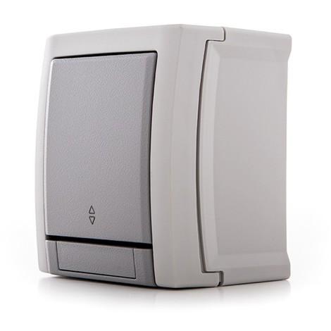 Conmutador Panasonic Pacific 10A 250V IP54 Gris (GH-PAWPTC40032GR)