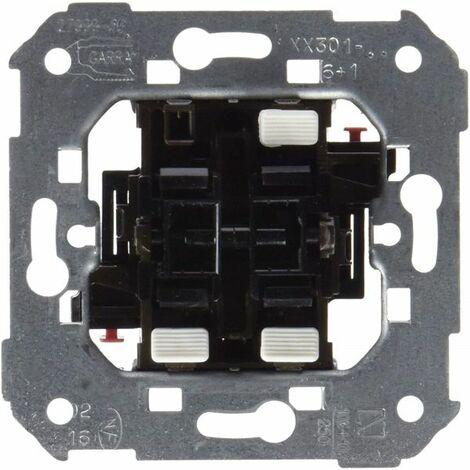 Conmutador + Pulsador campana Simon 75301-30 series 75,82,88