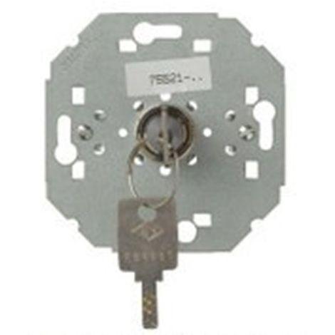 Conmutador-Pulsador con llave sin enclavamiento Simon 75521-39 series 75,82,88