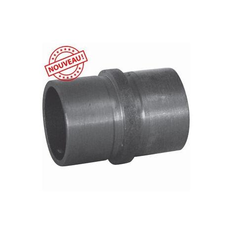 Connecteur acier pour main courante diam 42,4 mm