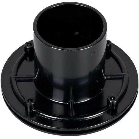 Connecteur bâche VIS INOX passe paroi PVC 50 mm bassin et étang