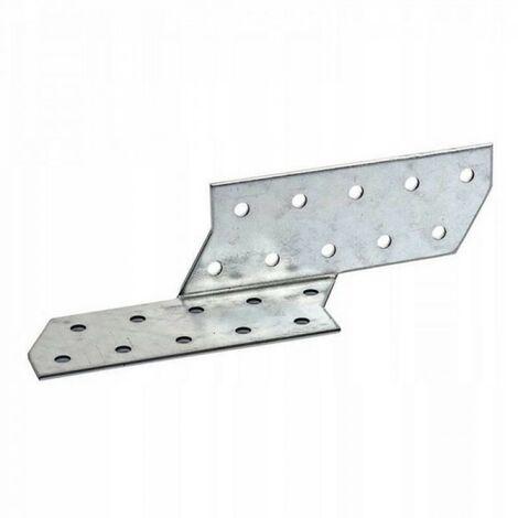 Connecteur chevron droit 40 x 210 mm angle de fais