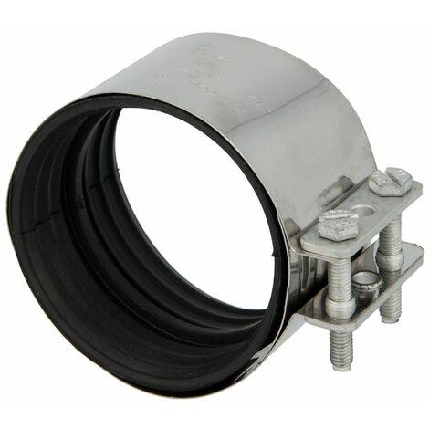 Connecteur CV DN125, inox pour tuyaux en fonte