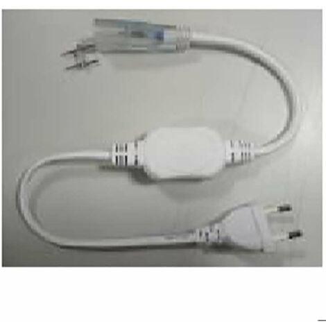 Connecteur d'alimentation pour ruban LED 220V étanche