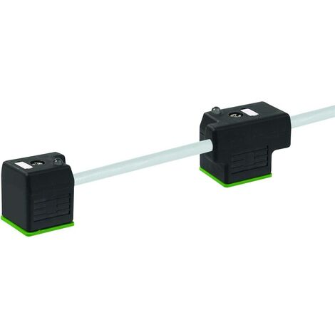 Connecteur de vanne double avec câble de raccordement gris 7000-58041-2270300 Murr Elektronik Contenu: 1 pc(s)