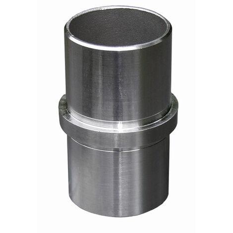 Connecteur droit pour tube Ø42,4 épaisseur 2mm. Pas compatible avec les produits de chez WILTEC. Uniquement compatible avec les produits normalisés.