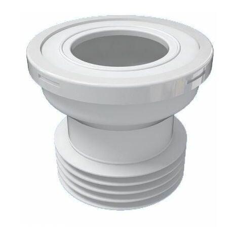 """Connecteur en caoutchouc du connecteur de pan des déchets droite 110mm 4 """"toilettes wc pour cuvettes de toilettes"""
