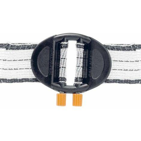 Connecteur Gallagher professionnel pour sangles de 20/40 mm en paquet de 5 pièces