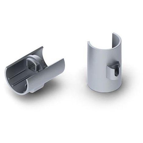 connecteur linéaire pour profilé en aluminium pour ruban led alu-round - compatible avec supension pour câbles reutlinger - arge