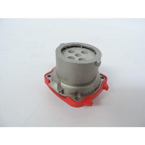 Connecteur métal prise fiche male 20A 3P+T 400V étanche IP54 DN8 DECONTACTOR MARECHAL 1988013