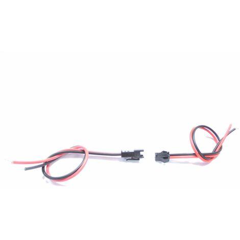 "main image of ""Connecteur Plug mâle femelle 12V - SILAMP"""