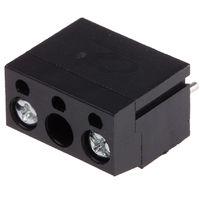 Connecteur pour CI, RS PRO, pas 10mm, 2 Contacts, Droit, Montage sur CI, Fil