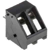 Connecteur pour CI, RS PRO, pas 5mm, 2 Contacts, Droit, Montage sur CI, Ressort type Cage