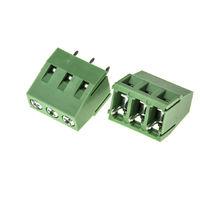 Connecteur pour CI, RS PRO, pas 5mm, 3 Contacts, Droit, Montage sur CI, Ressort type Cage