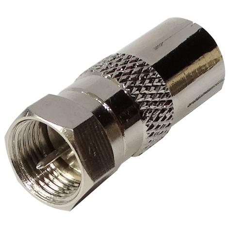 Connecteur raccord coupleur fiche F m/âle-m/âle coaxial satellite antenne tv t/él/é AERZETIX