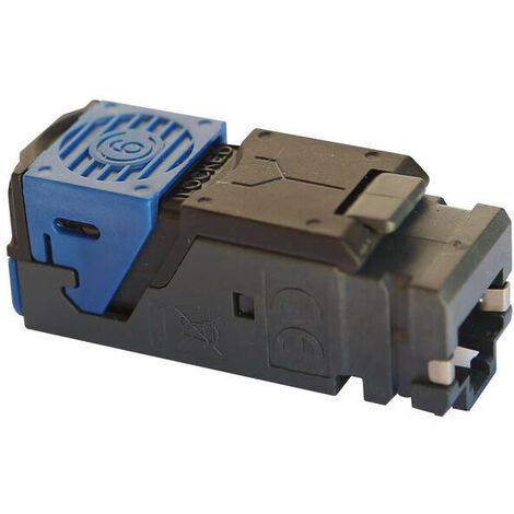 Connecteur RJ45 catégorie6 FTP pour coffrets Double Play et Basique avec brassage (413082)