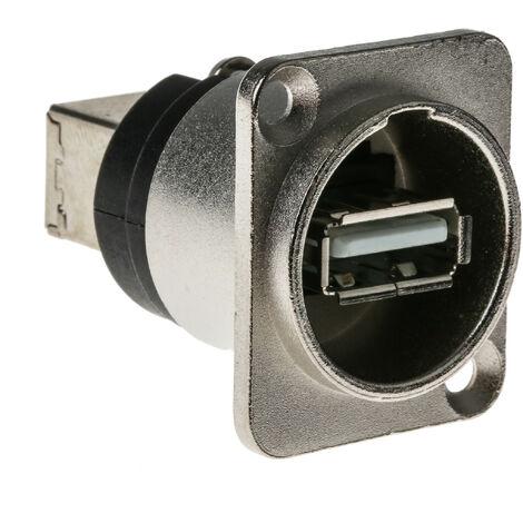 Connecteur USB-A, série GTC Sealed, Femelle, 4 ports , Montage panneau