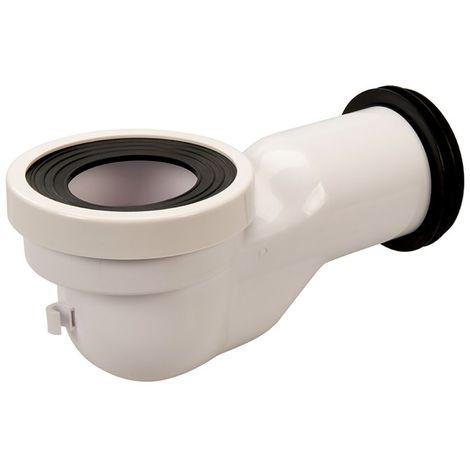 Connecteur WC col de cygne - 110 mm