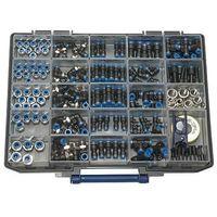 Connecteurs rapides de boîte d'assortiment, série bleue