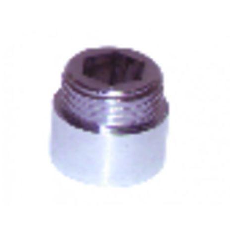Connection and gooseneck - Spout connection M15/21 x F22/150 (X 10)