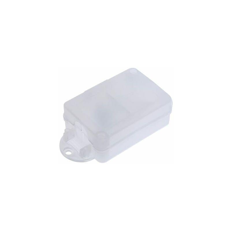 Image of Connector Box, Polypropylene, White, 90 X 50 X 30MM - Hellermanntyton