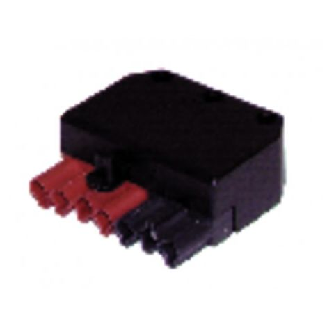 Connector female 7 poles