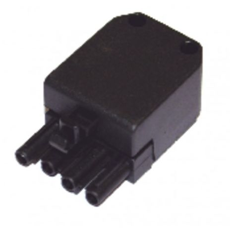 Connector mounted Type WIELAND - connector female 4 poles