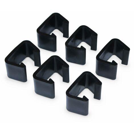 Connectors for 6-piece garden sofa set