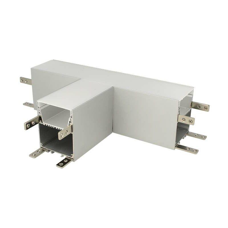 LEDLUX BA4492 Connettore Forma T Per Profilo Alluminio BA5570