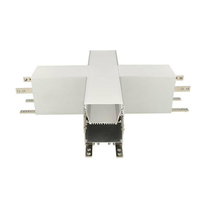 LEDLUX BA4493 Connettore Forma X Per Profilo Alluminio BA5570