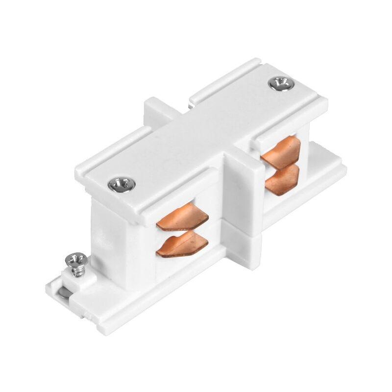 Connettore Tipo I per Binario Trifase Bianco - LEDKIA