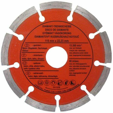 CON:P Trennscheibe 115 x 22,23 mm Diamant, für Beton segmentiert