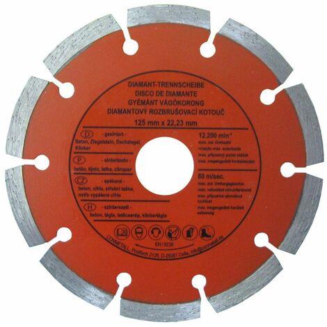 CON:P Trennscheibe 125 x 22,23 mm Diamant, für Beton segmentiert