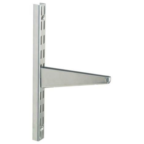 Console droites Sparring blanche longueur 370 mm