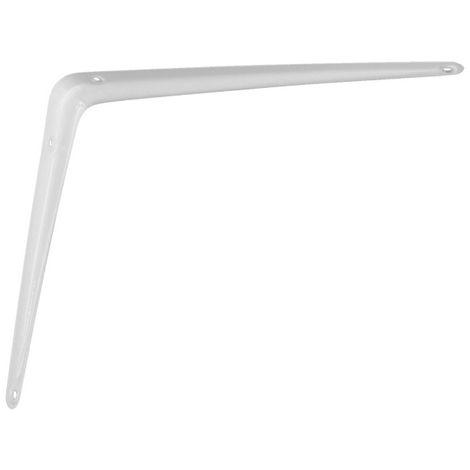 Console emboutie 30x25 cm Blanc BOURG - P-CE300B