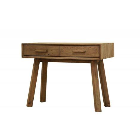 Console en bois 2 tiroirs - CHALET - Bois