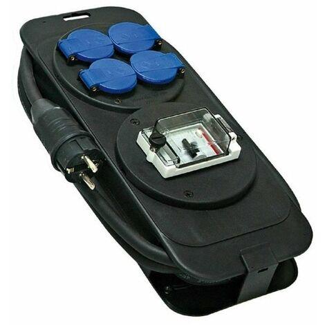 Console multiprises avec 5 m de câble