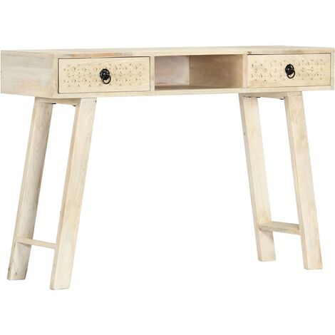 Console Table 110x35x76 cm Solid Mango Wood