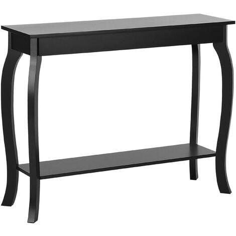 Console Table Black HARTFORD